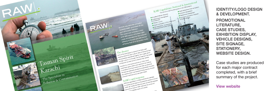 Raw Group Stationary & Website design by Tobias Borthen